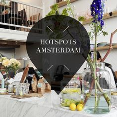 New hotspots in Amsterdam // Amsterdam City Guide Amsterdam Bar, Amsterdam City Guide, Amsterdam Shopping, Amsterdam Travel, Little Black Books, Cool Bars, Cafe Restaurant, Itunes, Netherlands