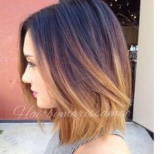 Galeria fryzur dla średnich włosów - cieniowane fryzury półdługie, długi bob, z grzywką. Oto najlepsze pomysły na urocze fryzury średnie z Instagrama.