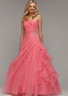 Be a perfect prom princess in the Giselle Prom Dress By Rosetta Nicolini from Berketex.