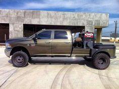 www.DieselTruckGallery.com Cummins Diesel welding truck