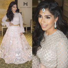 "629 Likes, 6 Comments - Natasha Moor (@natasha.moor) on Instagram: ""My gorgeous girl last night ❤️ @sonamnandwani #SoMantobe #jakarta #bride #beauty #look…"""