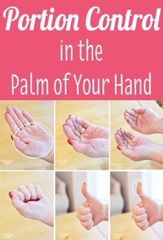 Portion Control In The Palm Of Your Hand