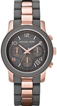 Hint! Hint!! Momma wants a Rose Gold Watch for Christmas!  Michael Kors MK5465 Womens Chronograph PVD Rose Gold Round Bracelet Watch!!