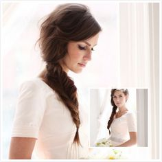 Good Catch- The Fishtail Braid. Now one of the most popular looks is the fishtail braid. The trick with the fishtail braid is to be able to loosen it. This trend is incredibly easy to style, even on your own hair. You can also try out the fishtail braid updo version. You will be the stunning special person in your big day!