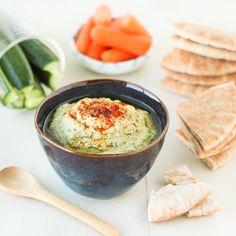 Green Tea Edamame Hummus