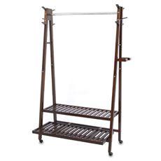 Solid Wood A-Frame Garment Rack