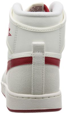 promo code 787de 76bcf Nike Jordan Mens AJ1 KO High OG Sail Varsity Red Basketball Shoe 11 Men US