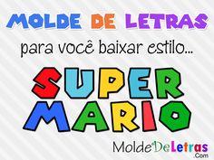 Molde de Letras e Números estilo Super Mario http://moldedeletras.com/molde-de-letras-e-numeros-estilo-super-mario/