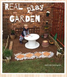 A Real Play Garden for the Kids