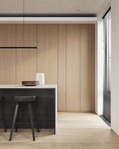 kitchen Kitchen Interior Inspiration, Cabinet Inspiration, Interior Desing, Modern Interior, Cheap Bedroom Decor, Cheap Home Decor, Kitchen Room Design, Diy Kitchen, Walnut Kitchen