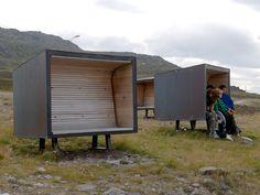 Snefjord Rest Stop by Pushak « Landezine | Landscape Architecture Works