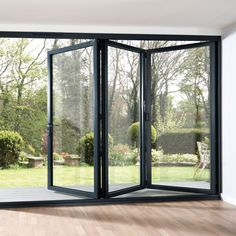 folding outside patio doors French Doors With Screens, French Windows, French Doors Patio, Windows And Doors, Patio Windows, French Patio, Panel Doors, Folding Glass Patio Doors, Folding Doors
