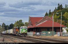 RailPictures.Net Photo: BNSF 1459 BNSF Railway EMD SD60M at Centralia, Washington by Luke A. Renish