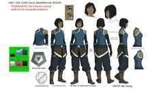 Korra Scenery — The Legend of Korra  Character Designs  Korra ...