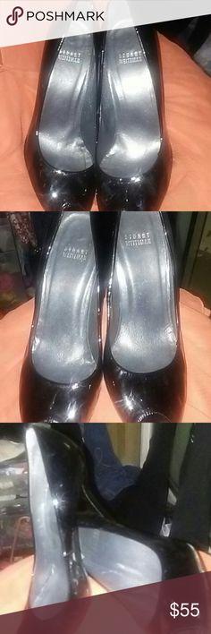 Stuart Weitzman black peep toe heels Stuart Weitzman black peep toe heels Stuart Weitzman Shoes Heels