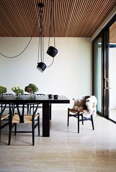 Houten plafond | HOMEASE