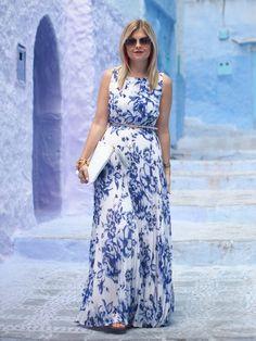 Blue on Blue via Suburban Faux Pas