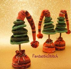 Ravelry: Christmas tree pattern by Anastasia Eisenberg