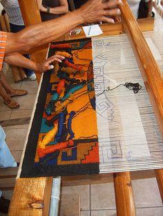 Work in Progress Teotitlan del Valle Oaxaca