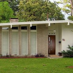mid century architecture | Mid-Century Modern Architecture. | door!