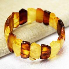 Amber bracelet / Baltic amber / Amber bracelet for adults /