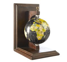 Bombay & Co, Inc. :: ACCESSORIES :: Office Accessories :: GLOBE PAIR OF BOOKENDS