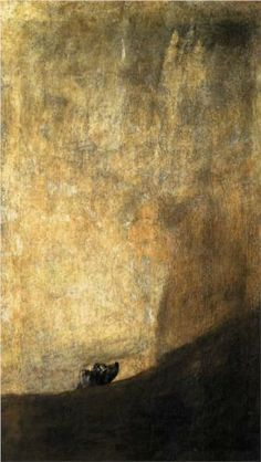The Dog, Francisco de Goya