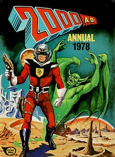 2000AD Annual 1978. Dan Dare cover. I think this was the very first annual. Got it somewhere.