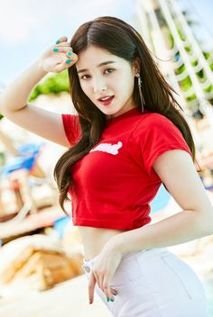 Take a look at OppaGirl's gallery on Nancy, the visual of K-Pop girl group Momoland. We've got photos and GIFs, just for you! Nancy Momoland, Nancy Jewel Mcdonie, Sexy Asian Girls, Beautiful Asian Girls, Indian Girls, Korean Beauty, Asian Beauty, Kpop Love, Vixx