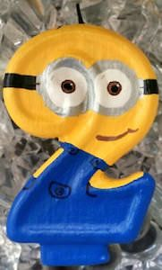 Despicable Me Minion Birthday Candle