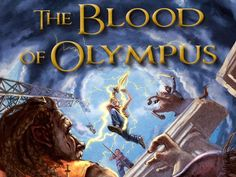 OMFGS ITS HERE ITS HERE THE BLOOD OF OLYMPUS COVER   Book Buzz exclusive: Rick Riordan cover reveal via @USA TODAY