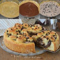 Torta ricotta e nutella ( o marmellata o crema)   Vale cucina e fantasia