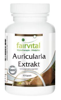 Auricularia Extrakt - 90 Kapseln | Vitalstoffe & Gesundheitsprodukte online kaufen | Fairvital