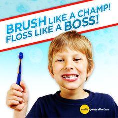 Brush like a BOSS