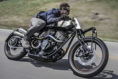"""Classic Looking Speed: Roland Sands Custom Indian """"Track Chief"""" 