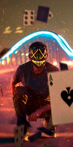 Magic Cards and Mask Guy iPhone Wallpaper - iPhone Wallpapers Erasable (Vinyl) Wall papers: Hipster Wallpaper, Boys Wallpaper, Vinyl Wallpaper, Colorful Wallpaper, What Is Cloud Computing, Marshmello, Mask Guy, Hacker Wallpaper, Scary Mask
