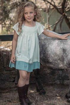 VESTIDO MENORCA Menorca, Girls Dresses, Flower Girl Dresses, Ss16, Wedding Dresses, Kids, Fashion, Kids Fashion, Summer Dresses