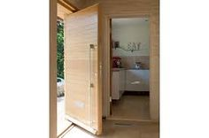 wide pivot hung front door uk - Google Search
