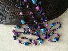 A personal favorite from my Etsy shop https://www.etsy.com/listing/254353758/long-necklace-stone-necklace-beaded