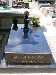 Marcel Proust, au Père-Lachaise