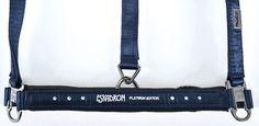 Eskadron Platinum Collection Headcollar - Navy