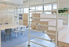 dave keune adapts design innovation space for flexible office use