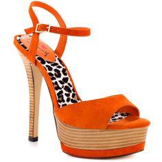 Ash Ley - Orange Suede  Luichiny $79.99