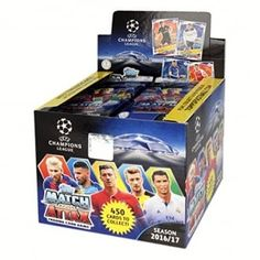 Topps Match Attax Champions League 16/17 Trading Cards Booster BOX (50 packs)