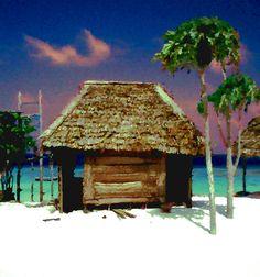 Zanzibar Beach Hut