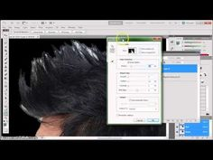 Photoshop Lesson 04B Using Refine Edges to Make a Mask - YouTube