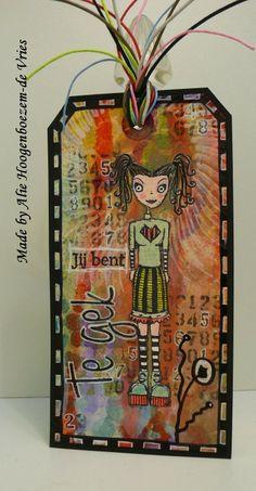 Tag, made by Alie Hoogenboezem-de Vries