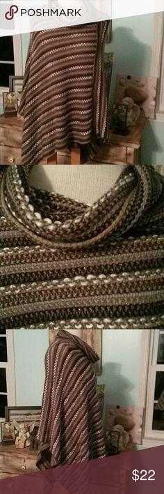 Steve Madden Roll Neck Cape / Tunic One Size Very pretty. .soft..Asymmetrical. . Steve Madden Tops