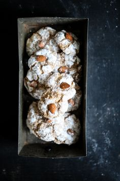 Amarettini Cookies Rezept Siemens Home almond cookies Backrezept…