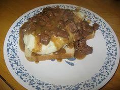 Crock Pot Beef Manhattan - my absolute FAVE recipe!